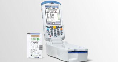 EPOC – przenośny analizator parametrów krytycznych, do badań gazometrii, elektrolitów i metabolitów.