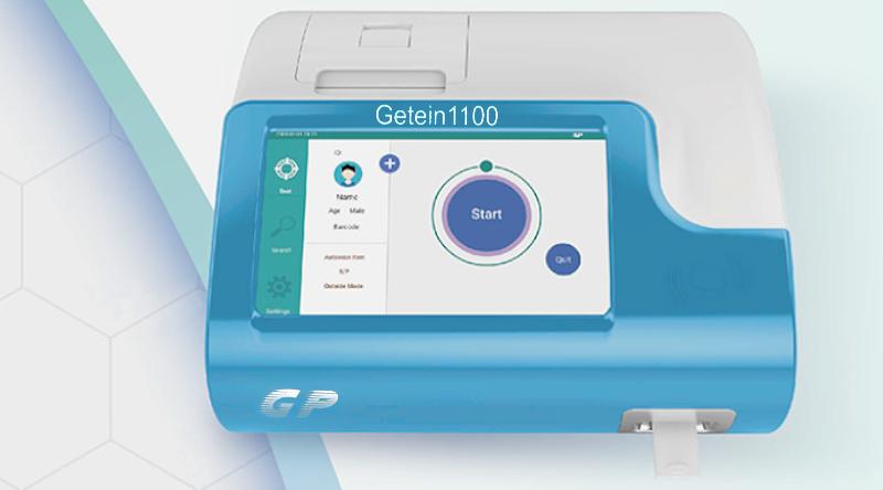 Getein 1100 System testowania Point-of-care